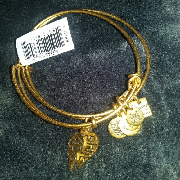 Alex and Ani Jewelry - Alex and Ani gold tone best friend set
